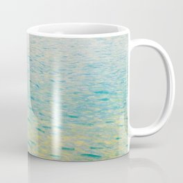 Island in the Attersee Gustav by Klimt Date 1902 // Abstract Oil Painting Water Horizon Scene Coffee Mug