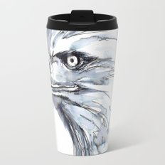 Eagle Portrait (Watercolor Sketch) Travel Mug