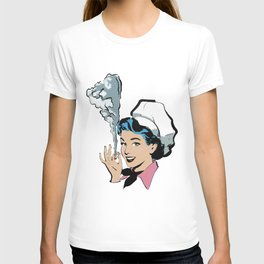 Wake and Bakerswoman T-shirt