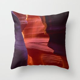 Majestic Slot Canyons Painted By the Divine Throw Pillow