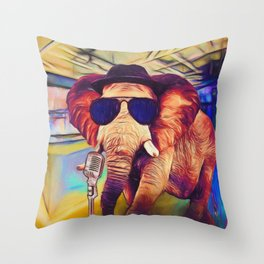 Trunk it Up Throw Pillow