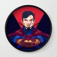 superman Wall Clocks featuring Superman by Muito