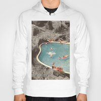 eddie vedder Hoodies featuring is this the place that they call paradise? by Jesse Treece