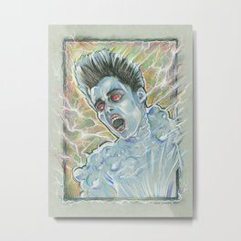 """""""Are you a god?"""" Metal Print"""