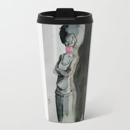 Inked girl#1 Travel Mug