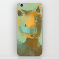 durarara iPhone & iPod Skins featuring Celty by putemphasis