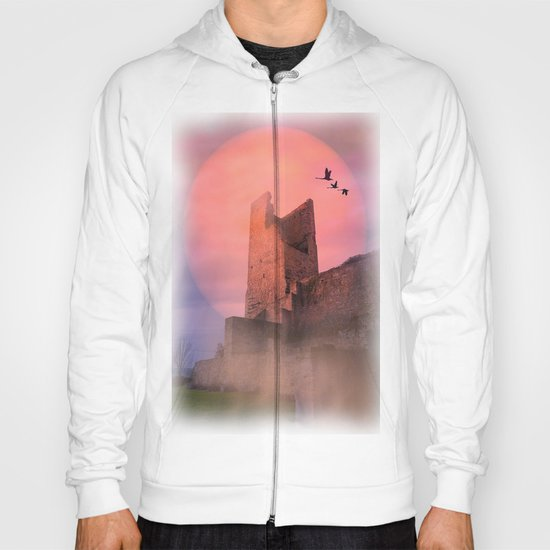 Castle in the evening Hoody