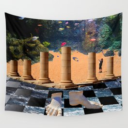 The Elemental Tourist - Water Wall Tapestry