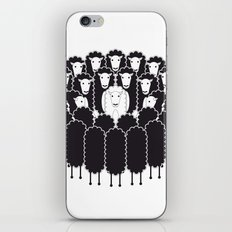 Being the White Sheep iPhone & iPod Skin