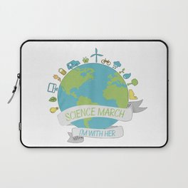 Science march - I'm with her Laptop Sleeve
