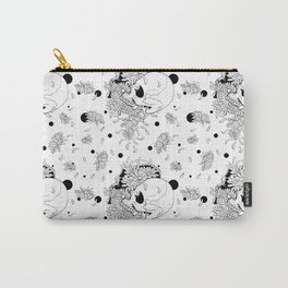 Pushing Up Daisies Spot Pattern Carry-All Pouch