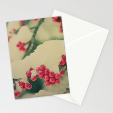 Winter Berry Stationery Cards