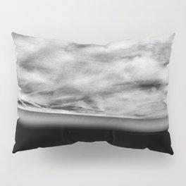 Florida Beach Black Pillow Sham