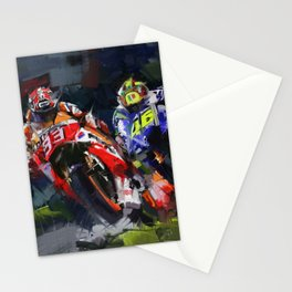 Motogp Champion Stationery Cards