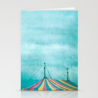 circus Stationery Cards featuring Circus by The Last Sparrow