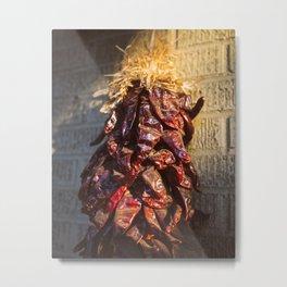 Chile rojo Metal Print