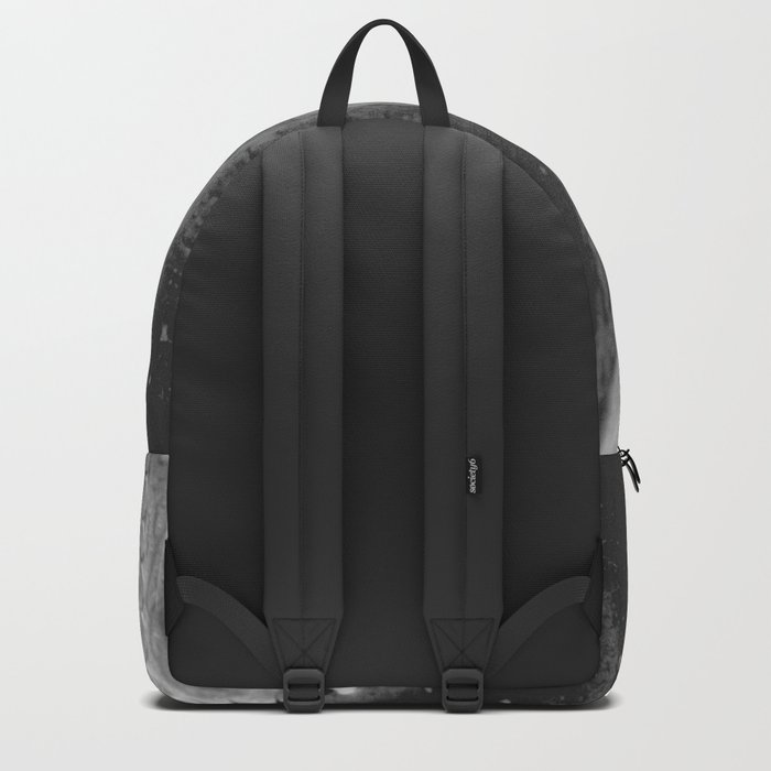Amazing Agave - Black and White Backpack