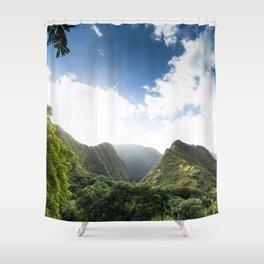Iao Valley Mist // Horizontal Shower Curtain