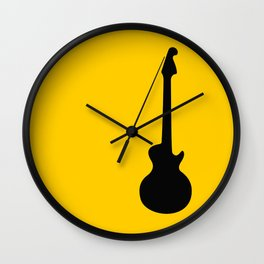 Simple Guitar Wall Clock