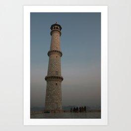 Taj Minar Art Print