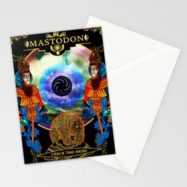 mastodon crack the skye 2019 simukasama Stationery Cards