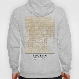 TUCSON ARIZONA CITY STREET MAP ART Hoody