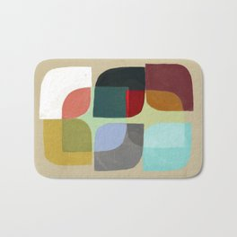 Color Overlay Bath Mat