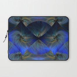 Blue Diamond Twirl Laptop Sleeve