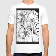 My Lovelies MEDIUM Mens Fitted Tee White