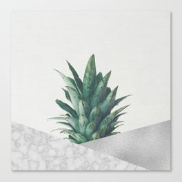 Pineapple Dip VIII Canvas Print