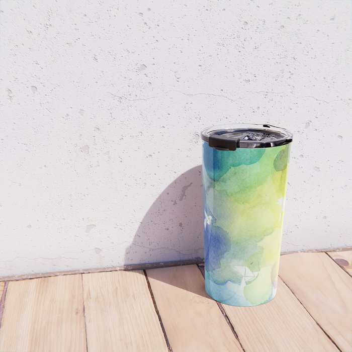 Colorful clouds Travel Mug