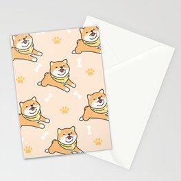 Baby Shiba  Stationery Cards