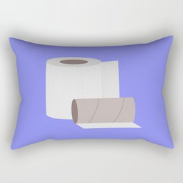 Toilet paper rolls Rectangular Pillow
