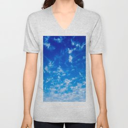 Whispy Clouds Unisex V-Neck