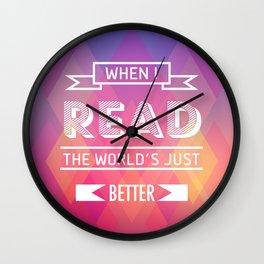 When I read Wall Clock
