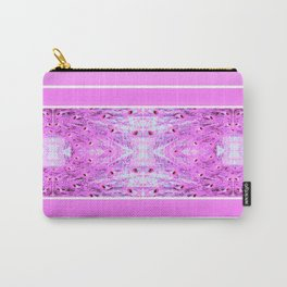 Peacock Pretty In Pink Carry-All Pouch