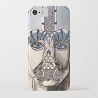 viking iPhone & iPod Cases featuring Viking by Hannah Brownfield Camacho