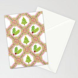 Polka Dot Christmas Stationery Cards