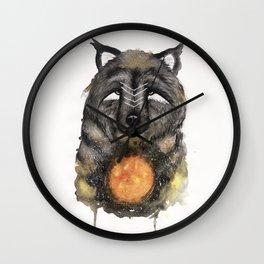 Copernicus the Sun Bear. Wall Clock