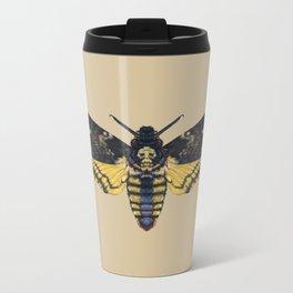 Death's-head hawkmoth Metal Travel Mug