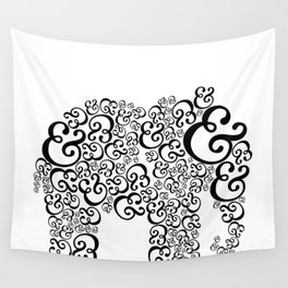 Ampersand Elephant Wall Tapestry