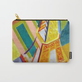"""Robert Delaunay """"Tour Eiffel"""" Carry-All Pouch"""