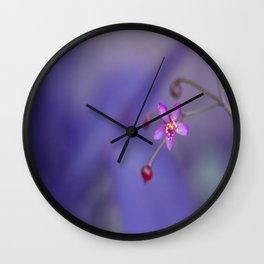 tiny F Wall Clock