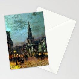 John Atkinson Grimshaw Blackman Street, London Stationery Cards