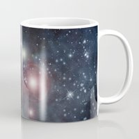 outer space Mugs featuring Outer Space by apgme