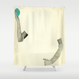 Disappearing Act Shower Curtain