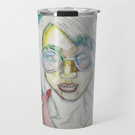 Raw Selfie Travel Mug