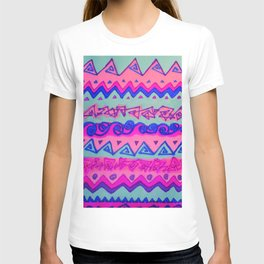 Pink and Blue T-shirt