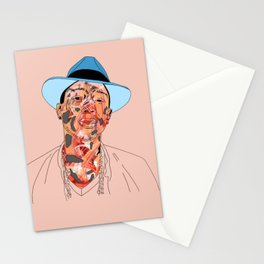 P is for Peach and Pharrell Stationery Cards