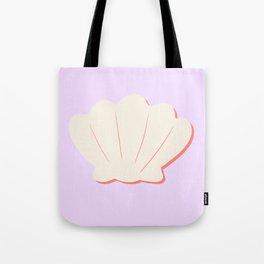 Lilac shell Tote Bag